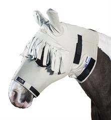 Anti-Itch Horse Mask - Beige