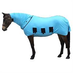 Bug Body Anti-Itch Horse Fly Rug - Haint Blue