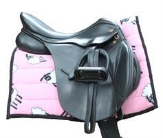 Horse Saddle Pad - Pink Sheep