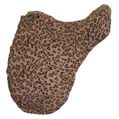 Fleece Saddle Cover - Leopard