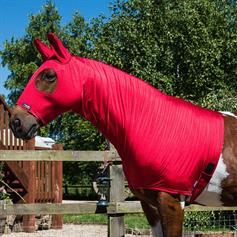 Skinny Lycra Hood - Red