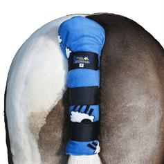 Fleece Travel Horse Tail Guard - Blue Sheep