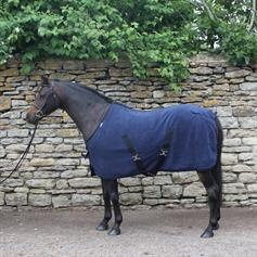 Show Rug - Fully Lined - Navy