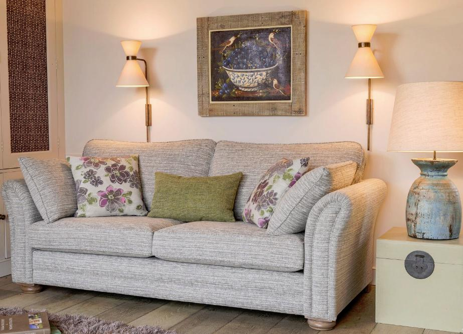 Alstons - Avignon 3 Seater Sofa