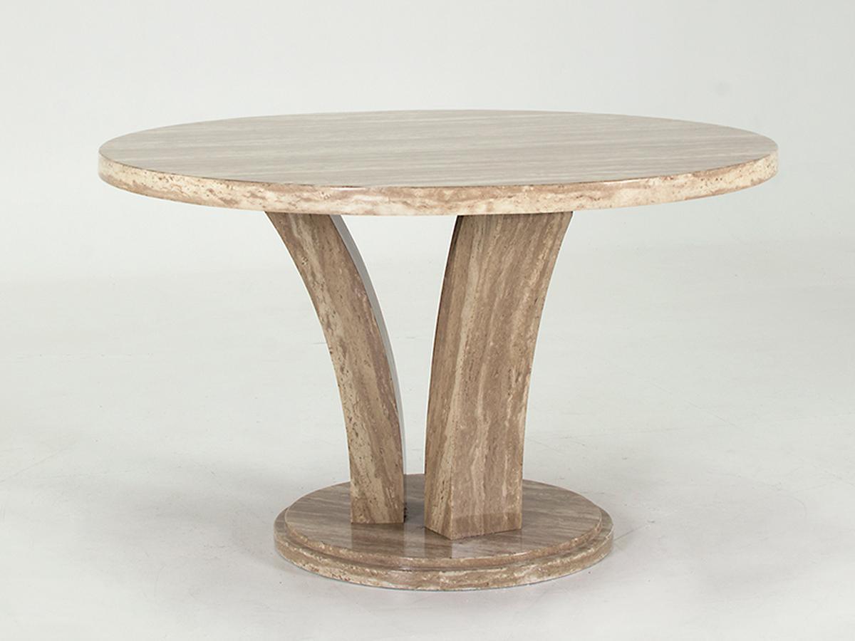 Amalfi Round Dining Table - Sahara
