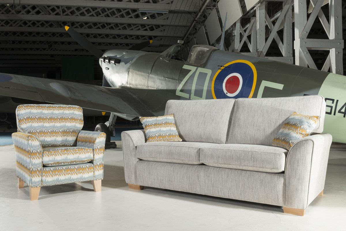 Alstons- Spitfire 3 Seater Sofa/Sofabed