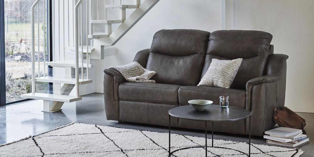 Gplan- Firth 3 Seater Power Recliner Sofa