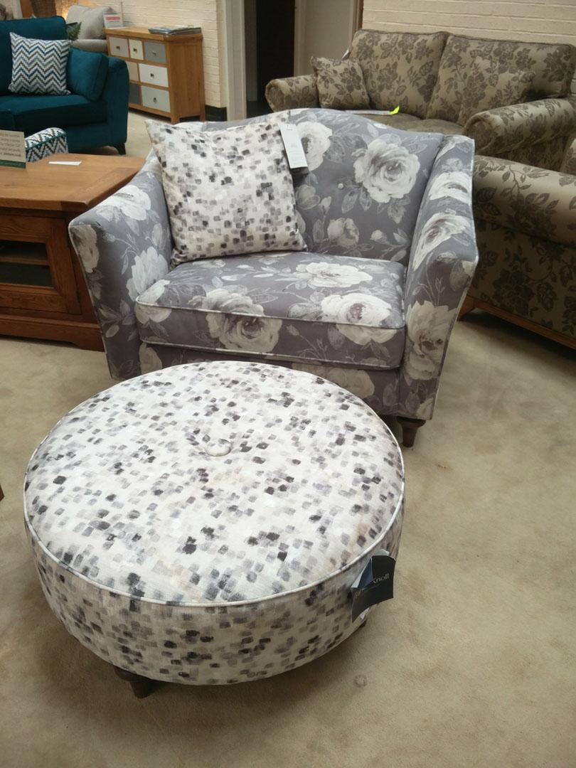 Maison by Parker Knoll - Amelie Snuggler and Stool