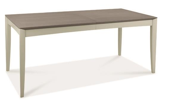 Copenhagen 6-8 Seater Extending Table in Grey Washed Oak and Soft Grey