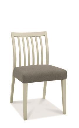 Copenhagen Low Slat Back Chair in Grey Washed Oak and Soft Grey
