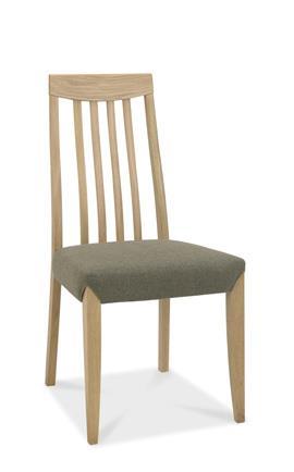 Copenhagen Tall Slat Back Chair in Oak