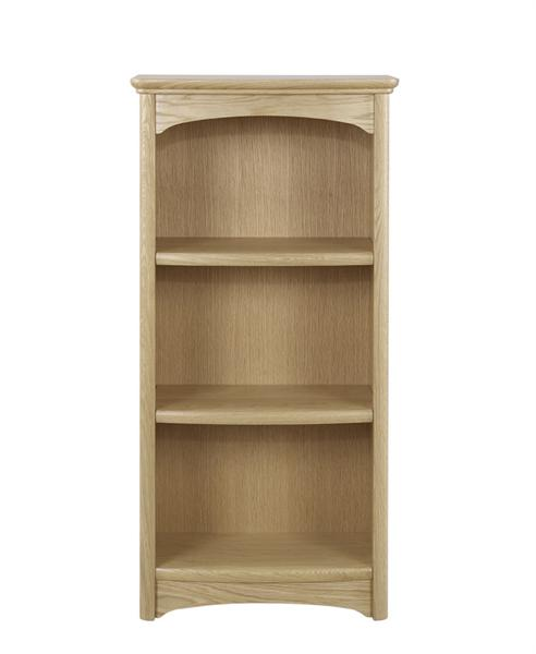Nathan - Shades In Oak - Mid Single Bookcase