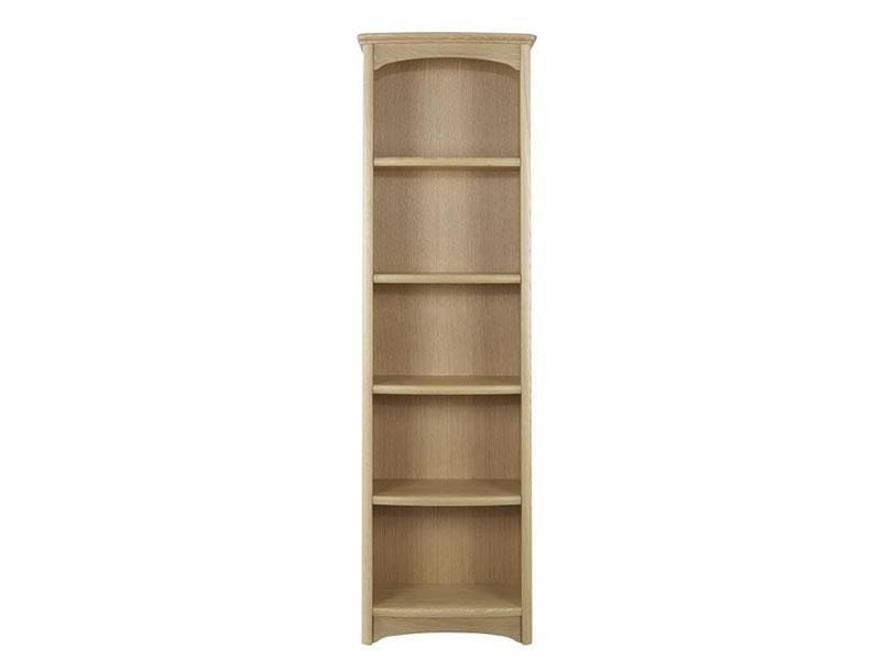 Nathan - Shades In Oak -  Tall Bookcase