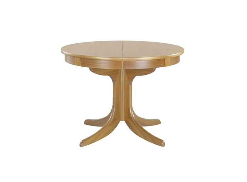 Nathan - Shades In Oak - Pedastal Dining Table