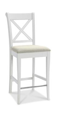 Westminster X Back Bar Stool in Two Tone