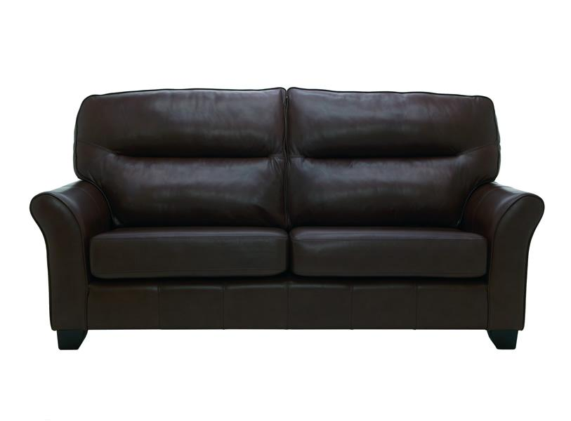 G Plan - Gemma 3 Seater Sofa In Leather