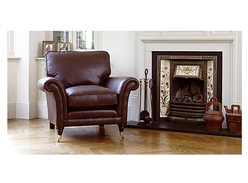 Parker Knoll - Leather Burghley Armchair