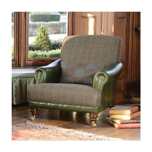 Tetrad - Harris Tweed - Taransay Gents Chair