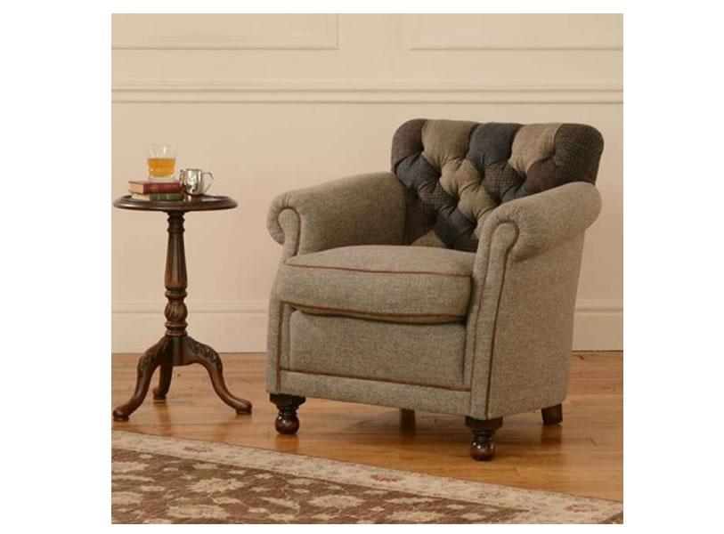 Tetrad - Harris Tweed - Barra Armchair