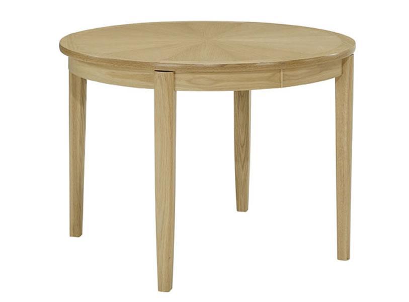Nathan - Shades In Oak - Circular Dining Table