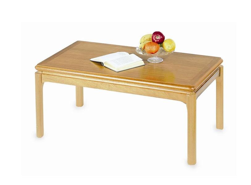 Nathan - Classic Teak - Crown Cut Coffee Table from ...