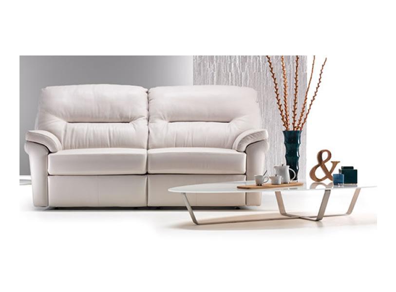 G Plan - Washington leather Sofa