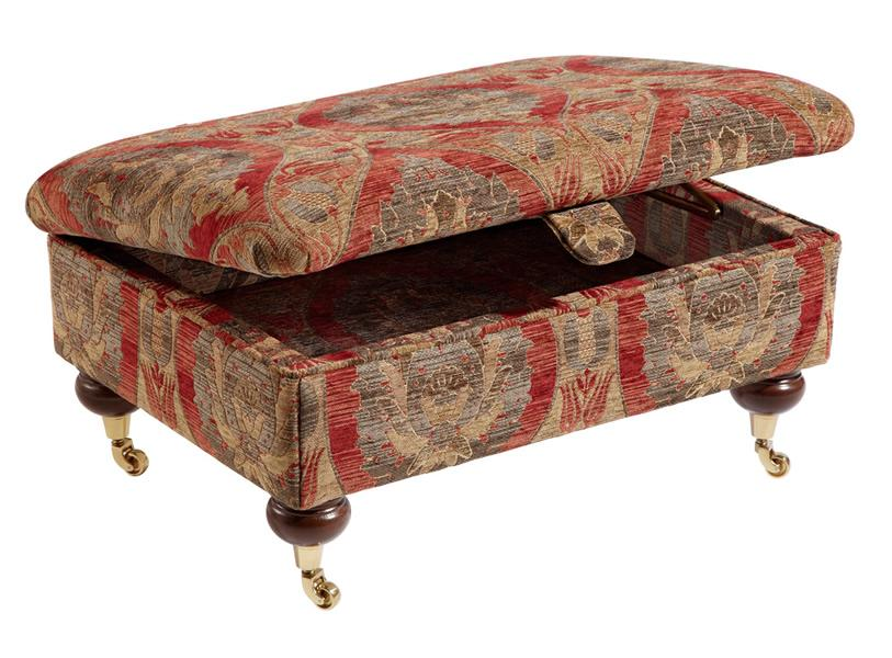 Duresta - Ruskin Foot Stool / Storage Box