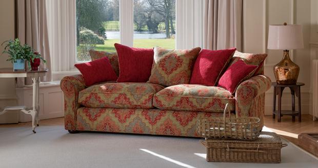 Parker Knoll - Newark Pillow Back Grand Sofa