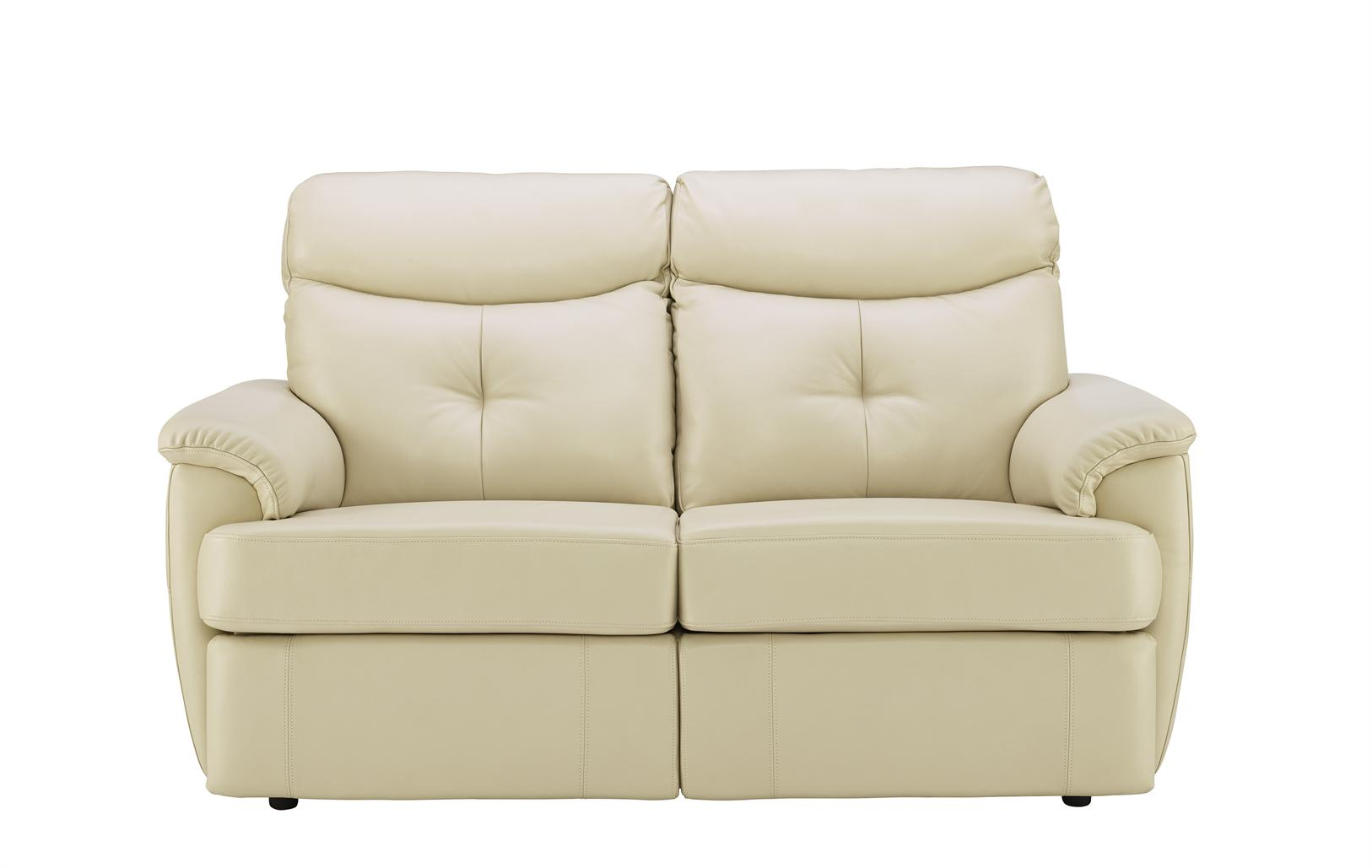 G Plan - Atlanta Leather Two Seater Sofa