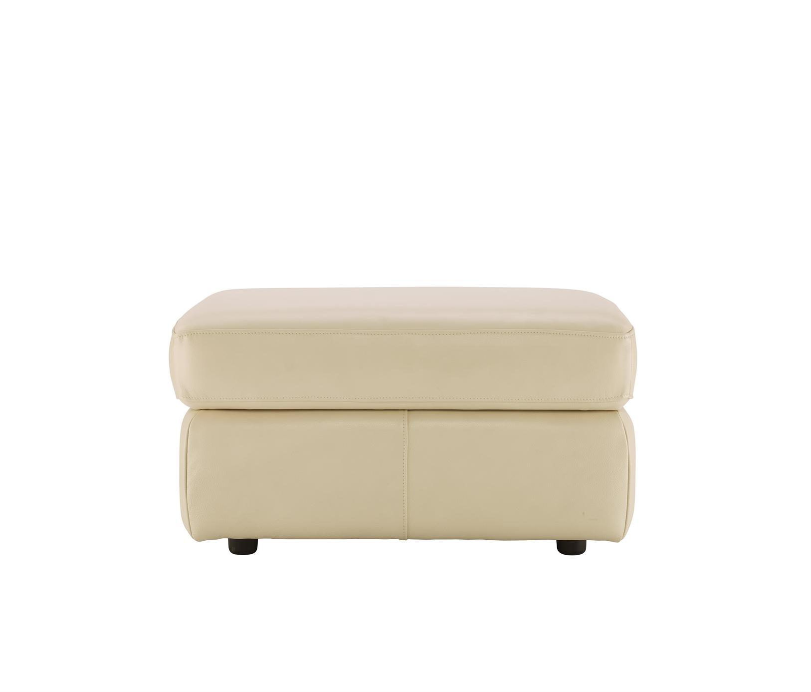GPlan - Atlanta Leather Storage Footstool