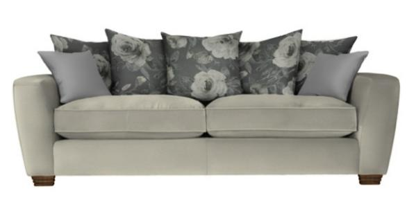 Parker Knoll- Maison Collection- Leon Grand Pillow Back Sofa