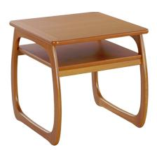 Nathan- Classic Teak- Burlington Lamp Table
