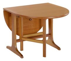 Nathan- Classic Teak- Mini Gate Leg Table