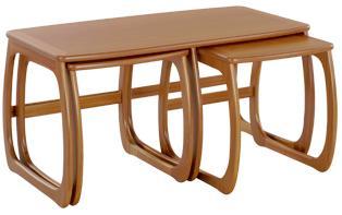 Nathan- Classic Teak- Burlington Coffee Table Nest