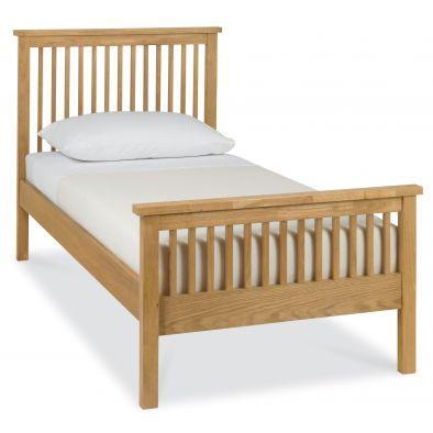 Georgia- High Foot Single Bedstead