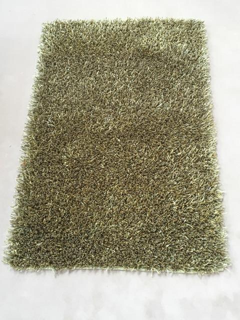 Green Fluffy Rug