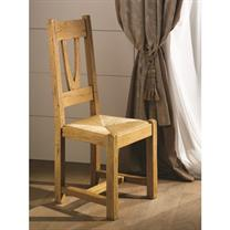 Nogent Collection- Rustic Solid Oak Dining Chair