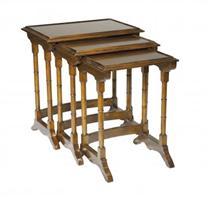 Nest of Tables Mahogany