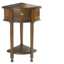 Corner Hall Table Mahogany