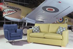Alstons - Hawk 3 Seater Sofa/Sofabed
