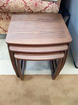 Nathan - Classic Medium Oak - Burlington Nest of Tables