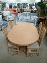 Gola - Bergen - Oval Table and 4x Chairs