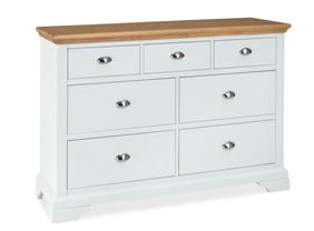Westminster 3+4 Drawer Chest in Two Tone