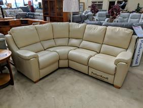 Parker Knoll Albany Leather Reclining Corner Group