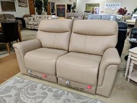 G Plan Harrison 2.5 Seater Power Reclining Leather Sofa