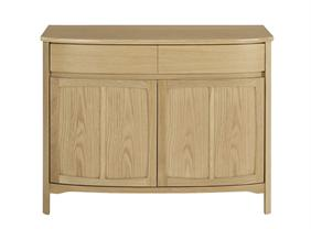 Nathan - Shades In Oak -  2 Door Sideboard
