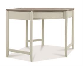 Copenhagen Corner Desk in Grey Washed Oak and Soft Grey