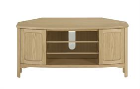 Nathan - Shades In Oak - Corner TV Unit