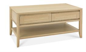 Copenhagen Coffee Table with Drawer in Oak