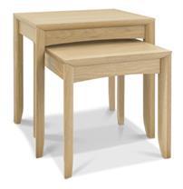 Copenhagen Nest of Tables in Oak